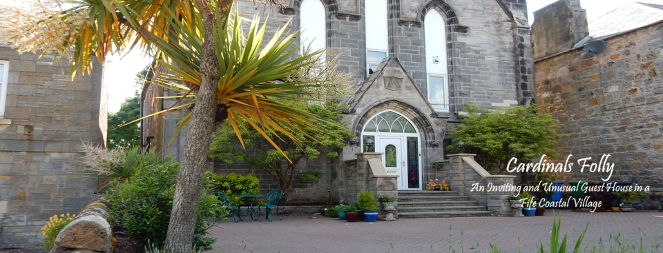 Unusual and inviting bed and breakfast guest house in a Fife coastal village